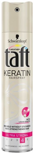 Taft Keratin Ultra Strong Hairspray