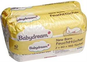 Babydrem New Born Törlőkendő