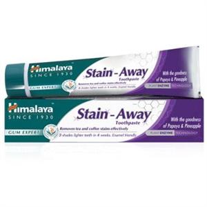 Himalaya Herbals Stain-Away Fehérítő Fogínyvédő Gyógynövényes Fogkrém