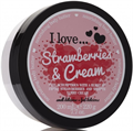 I Love... Strawberries & Cream Testápoló Vaj