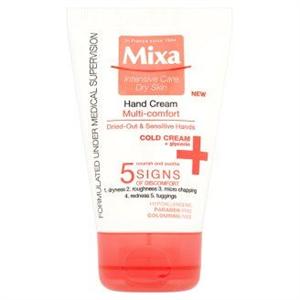 Mixa Cold Cream Multi Comfort Kézkrém Kiszáradt és Érzékeny Bőrre