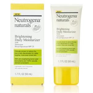 Neutrogena Naturals Brightening Daily Moisturizer With Sunscreen Broad Spectrum Spf 25
