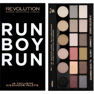 MakeUp Revolution Run Boy Run Paletta
