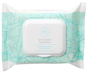The Honest Company 3-in-1 Facial Towelettes