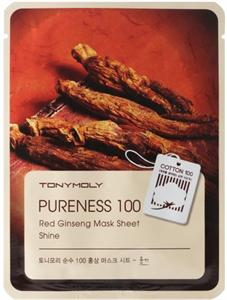 Tonymoly Pureness 100 Red Ginseng Mask Sheet