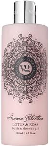 Vivian Gray Aroma Selection Lotus & Rose Bath & Shower Gel