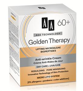 AA Age Technology 60+ Golden Therapy Nappali Arckrém UVA/UVB