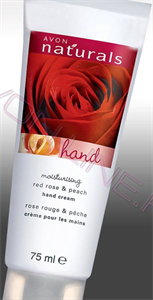 Avon Naturals Rózsa és Barack Kézkrém