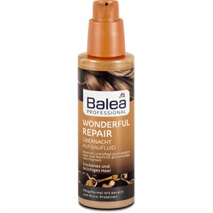 Balea Professional Wonderful Repair Hajújjáépítő Éjszakai Fluid