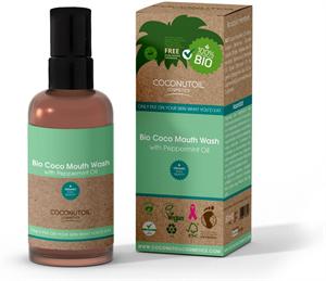 Coconutoil Cosmetics Bio Coco Szájvíz Borsmentával