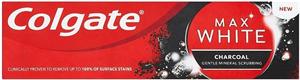 Colgate Max White Charcoal Fogkrém