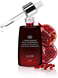 GA-DE Hydra Sublime Royal Pomegranate Overnight Recovery Oil