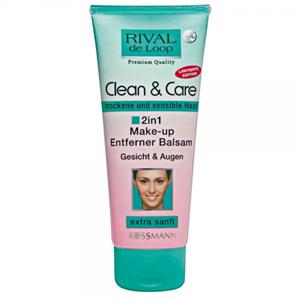 Rival De Loop Clean&Care 2in1 Sminklemosó Balzsam