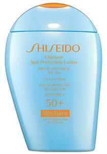 Shiseido Ultimate Sun Protection Lotion +WetForce SPF50+