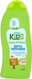 Tesco Kids Apple&Melon Bath&Bodywash