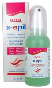 X-Epil Sos Szőrbenövést Megelőző Folyadék