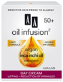AA Oil Infusion2 50+ Lifting Hatású, Ránctalanító Nappali Arckrém UVA/UVB
