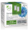 AA Sensitive Nature Búzavirág 20+ Aktív Hidratáló Nappali Krém