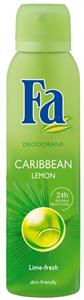 Fa Caribbean Lemon Exotic Fresh Dezodor Spray
