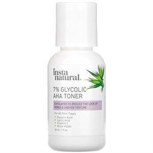 InstaNatural 7% Glycolic AHA Toner
