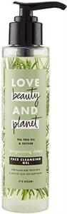 Love Beauty And Planet Teafa Olaj és Vetiver Arctisztító Gél