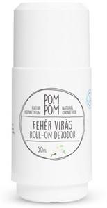 PomPom Fehérvirág Roll-On Dezodor