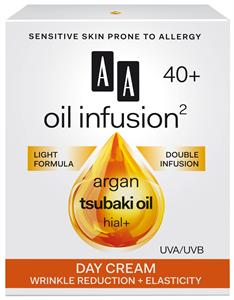 AA Oil Infusion2 40+ Ránctalanító, Rugalmasságot Növelő Nappali Arckrém UVA/UVB