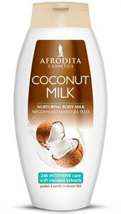 Afrodita Coconut Milk Nurturing Body Milk
