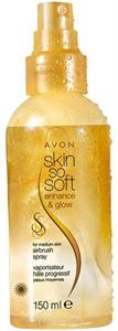 Avon Skin So Soft Csillogó Testápoló Spray