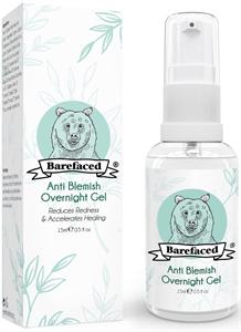 BeBarefaced Natural Anti Blemish Overnight Gel