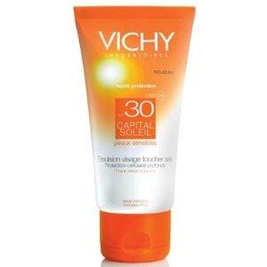 Vichy Capital Soleil Dry Touch Napvédő Krém Arcra SPF 30