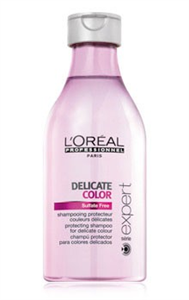 L'Oreal Paris Professional Series Delicate Color Szulfátmentes Sampon