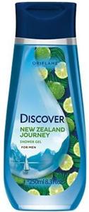Oriflame Discover New Zealand Frissítő Tusolózselé Férfiaknak