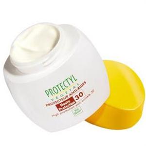 Yves Rocher Protectyl Végétal Bőrkisimító Napozó Krém Arcra SPF30