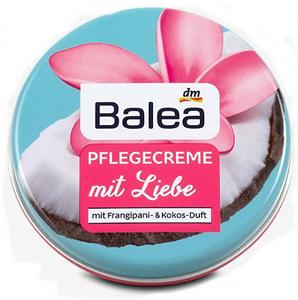 Balea Pflegecreme mit Liebe Frangipani & Kokos