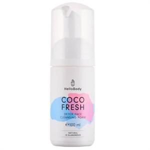 HelloBody Coco Fresh Méregtelenítő Arctisztító Hab