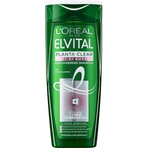 L'Oreal Paris Elvital Planta-Clear Korpa Elleni Sampon Érzékeny Fejbőrre
