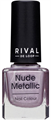 Rival de Loop Nude Metallic Nail Color