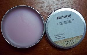 Ryis Natural Formula Vanilla & Lilac Ajakbalzsam