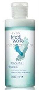 Avon Foot Works Kétfázisú Lábfürdető Tengeri Sóval