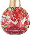 Avon Strawberries and Cream Habfürdő