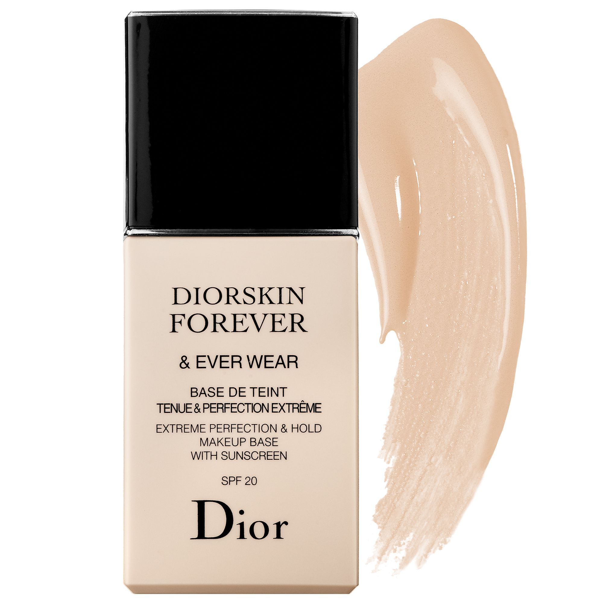 dior diorskin forever ever wear extreme perfection hold makeup base spf20. Black Bedroom Furniture Sets. Home Design Ideas