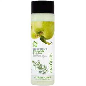 Superdrug Extracts Refreshing Green Apple & Tea Tree Conditioner