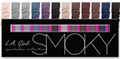 L.A. Girl Beauty Brick Eyeshadow Collection - Smoky