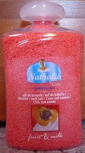 Nathalie & Clee Fruit&Milk Őszibarack Illatú Fürdősó