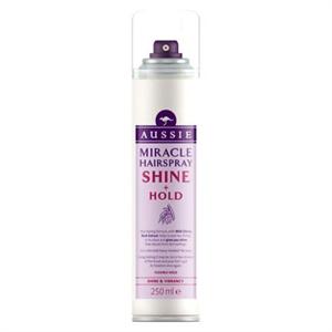 aussie Miracle Hairspray Shine + Hold Hajlakk
