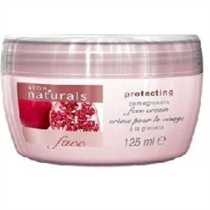Avon Naturals Gránátalma Bőrvédő Arckrém