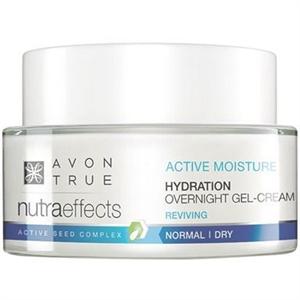 Avon True Nutra Effects Hidratáló Éjszakai Gélkrém