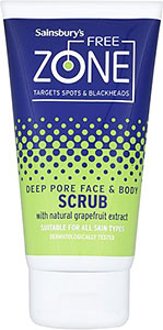 Sainsbury's Deep Pore Face & Body Scrub