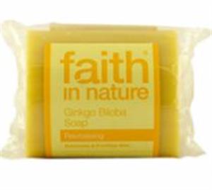 Faith In Nature Ginkgo Biloba Szappan